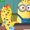 Help the minion recover from the injury in this minion foot doctor game that yo